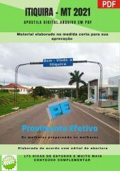 Apostila Concurso Prefeitura Itiquira MT 2021 Odontólogo