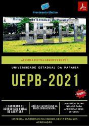 Apostila Concurso UEPB 2021 Técnico de Segurança do Trabalho