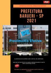 Apostila Concurso Prefeitura  BARUERI 2021 Engenheiro do Trabalho