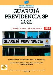 Apostila Concurso Previdencia Social de Guarujá SP 2021 Analista Previdenciário de Beneficíos