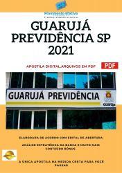 Apostila Concurso Previdencia Social de Guarujá SP 2021 Analista Previdenciário Assistente Social