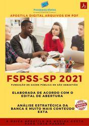 Apostila Concurso FSPSS SP 2021 Auxiliar Administrativo