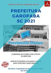 Apostila Concurso Prefeitura Garopaba SC 2021 Nivel Medio e Técnico