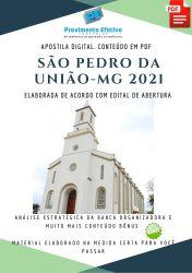 Apostila Concurso Prefeitura São Pedro da União MG Nível Superior