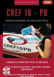 Apostila Concurso CREF 10 PB 2021 Agente Operacional