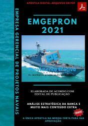 Apostila Concurso EMGEPRON 2021 Almoxarife