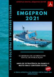 Apostila Concurso EMGEPRON 2021 Engenheiro de Segurança do Trabalho