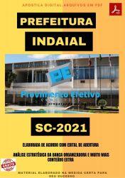 Apostila Concurso Pref Indaial SC 2021 Auxiliar Administrativo