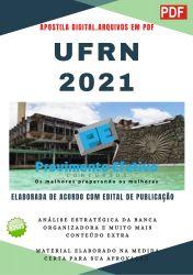 Apostila Concurso UFRN 2021 Odontólogo