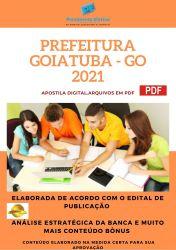 Apostila Concurso Prefeitura Goiatuba GO 2021 Agente Comunitário de Saúde