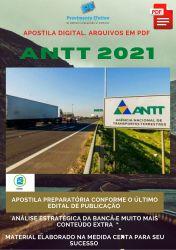 Apostila Concurso ANTT 2021 Técnico em Regulação de Transportes Terrestres