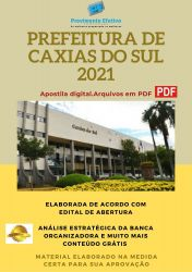 Apostila Concurso Pref Caxias do Sul 2021 Agente Endemias
