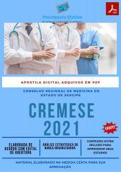 Apostila Concurso CREMESE 2021 Auxiliar Administrativo