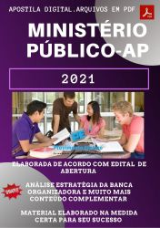 Apostila Concurso MP AP 2021 Técnico  Ministerial Auxiliar Administrativo