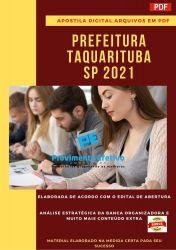Apostila Concurso Pref Taquarituba SP 2021 Professor Educação Física