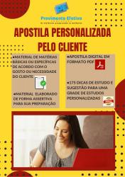Apostila Personalizada Pelo Cliente