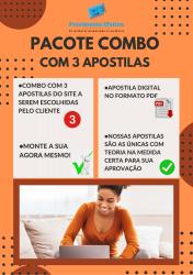 Pacotão de Apostilas do Site COMBO 3 Apostilas em 1 ano