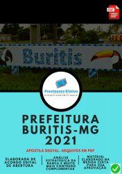 Apostila Concurso Prefeitura Buritis MG 2021 Auxiliar Administração