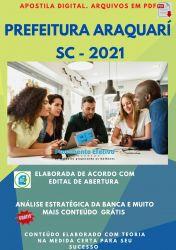 Apostila Concurso Prefeitura Araquari SC 2021 Nutricionista