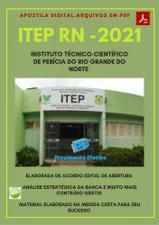 Apostila Concurso ITEP RN 2021 Psicologia Assistente Tecnico