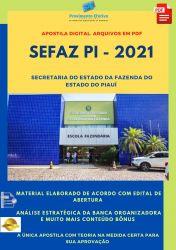 Apostila Concurso SEFAZ PI 2021 Analista Banco de Dados