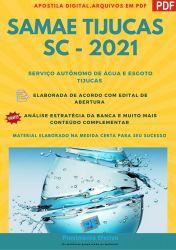 Apostila Concurso SAMAE Tijucas SC 2021 Agente Operação ETA e ETE