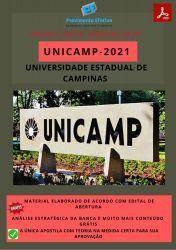Apostila Concurso UNICAMP 2021 Técnico Laboratório