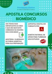 Apostila do Biomédico Concursos Biomedicina