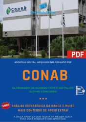 Apostila Concurso CONAB 2014 Engenharia Agronômica