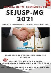Apostila Concurso SEJUSP MG Assistente Executivo Defesa Civil