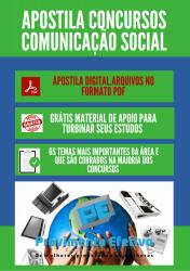 Apostila do Comunicador Social Concursos Comunicação Social