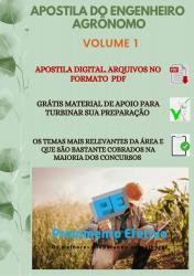 Apostila do Engenheiro Agrônomo Concursos Engenharia Agrônoma - Volume 1