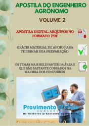 Apostila do Engenheiro Agrônomo Concursos Engenharia Agrônoma - Volume 2