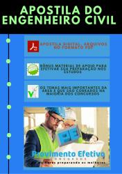 Apostila do Engenheiro Civil Concursos Engenharia Civil