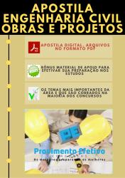 Apostila do Engenheiro Civil Concursos Engenharia Civil - Obras e Projetos