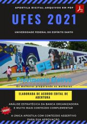 Apostila Concurso UFES ES 2021 Técnico Enfermagem