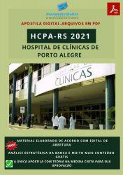 Apostila Concurso HCPA RS 2021 Analista I