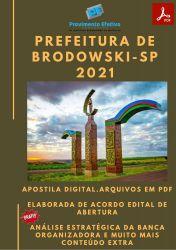 Apostila Concurso Pref Brodowski SP 2021 Psicólogo