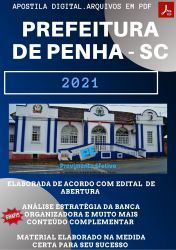 Apostila Concurso Prefeitura de Penha SC 2021 Nutricionista