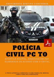 Apostila Perito Criminal Agronomia Concurso PC TO Polícia Civil