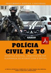 Apostila Perito Criminal Processamento de Dados PC TO Policia Civil Concurso