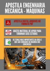 Apostila do Engenheiro Mecânico Concursos Engenharia Mecânica - Máquinas