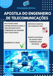 Apostila do Engenheiro de Telecomunicações Concursos Engenharia Telecomunicações