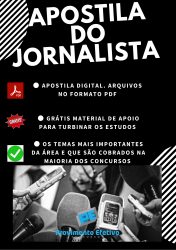 Apostila do JORNALISTA Concursos Jornalismo