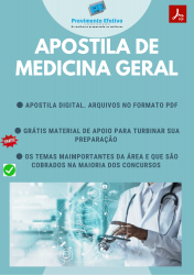 Apostila do Médico Clínico Geral Concursos Medicina