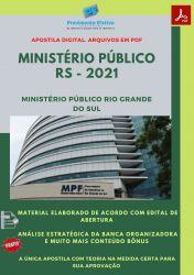 Apostila Concurso MP RS 2021 Analista do Ministério Público Direito