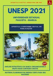 Apostila Concurso UNESP 2021 Assistente Administrativo II