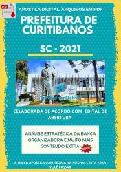 Apostila Concurso Pref Curitibanos SC 2021 Técnico Enfermagem