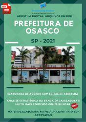 Apostila Concurso Pref Osasco SP 2021 Cozinheiro