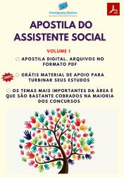 Apostila do Assistente Social Concursos Serviço Social - Volume 1